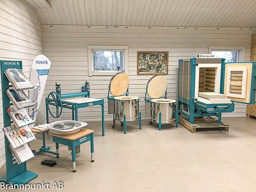 Rohde utställning keramikugnar hos Brännpunkt