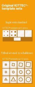 Kittec TP schabloner